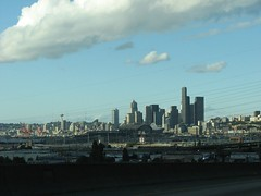 Our first views of Seattle