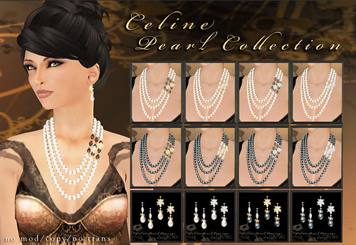 Celine Pearl Collection