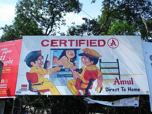 the x rated billboard in chennai.