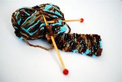 Knitting a Scarf