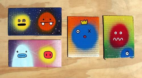 fast paintings #79-82
