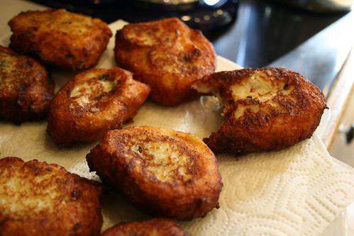 A yummy bite of kubba batata