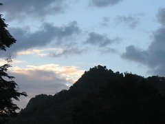 The Cem� mountain, seen from the Taino ceremonial centre at Caguana