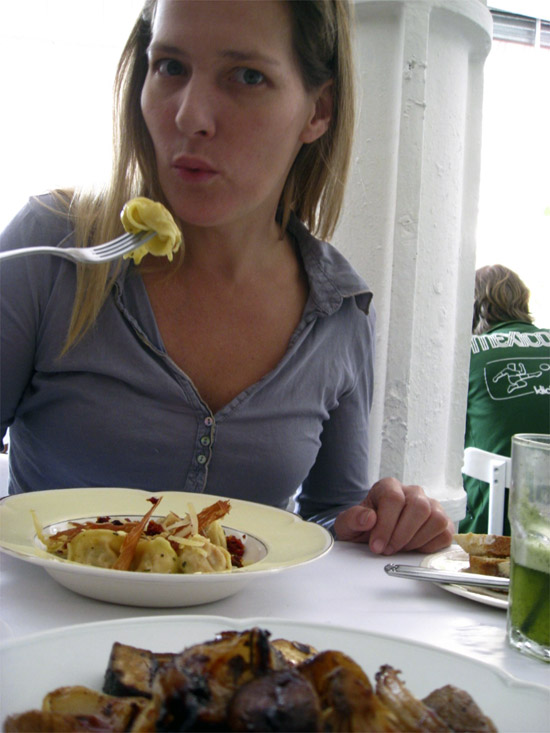 Eat pasta. Caseros Buenos Aires. San Telmo