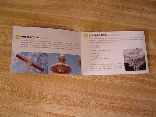 FBC brochure - opened