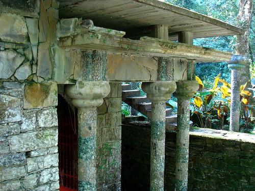 Arquitectura surrealista en Las Pozas