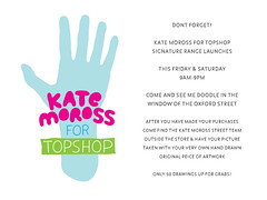 Kate Moross for Topshop