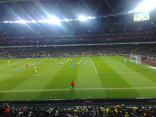 Brazil v Sweden, Emirates Stadium