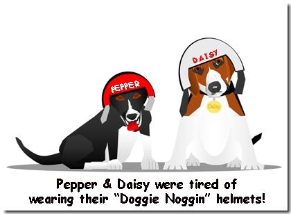 Doggie Bike Society, Pepper & Daisy