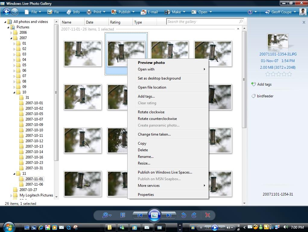 Photo Info test 2