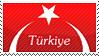 Török félholdas zászló ikon