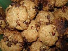 Lipstick Granola Cruncher Cookies