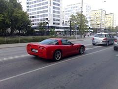många fina bilar