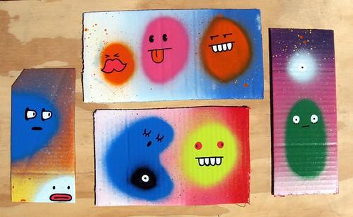 fast paintings #93-96