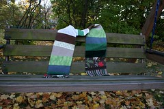 Waste Not Patchwork Scarf
