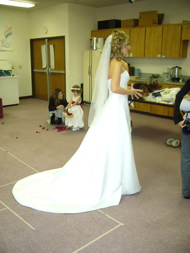 Megan the bride