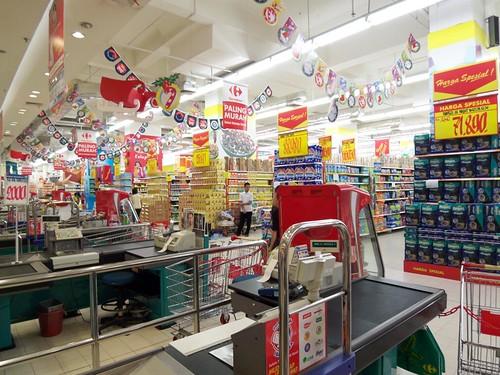 Gerai carrefour, Retailer Asing Terbesar di Indonesia