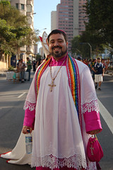 2007 - Gay Pride Parade -  Priest by cooldogphotos