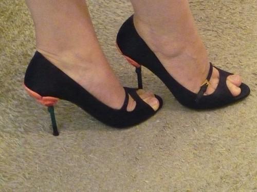 Juliette Binoche's shoes