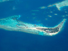 Bodu Hithi from the air