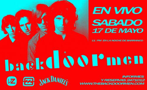 Afiche Backdoormen