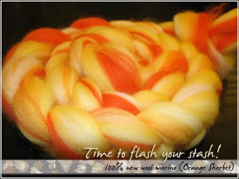 Orange Sherbet goodness!