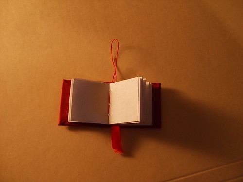 Tiny Case Bound Book Ornament