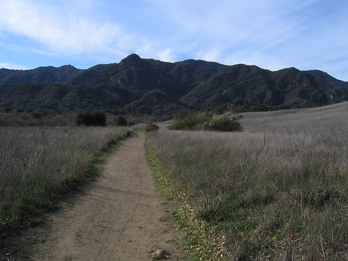 Start of Grasslands Trail