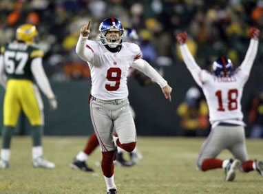 Giants win Lawrence Tynes after game-winning field goal kick