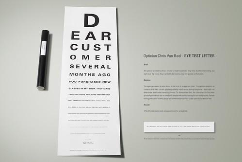 Direct-Mailing vom Optiker