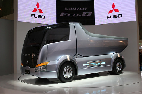Mitsubishi Fuso Canter Eco-D concept by electrofreeze.