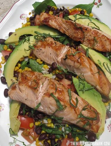 Southwestern Salmon Salad