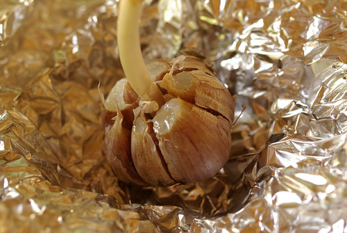 grilled garlic