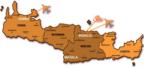 Matala map