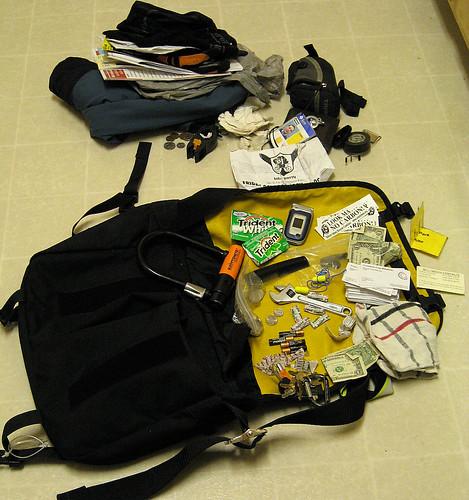 Bag audit part 4: Right outside pocket