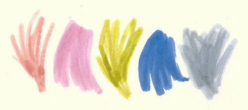 Summer Ink Palette No 3
