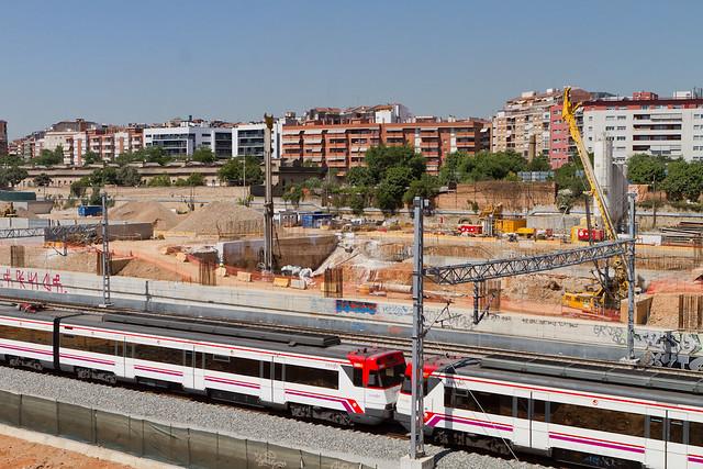 Obras Metro Linea 9 -  23-05-11