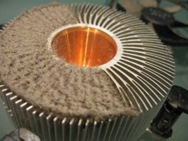 CPU Cooler Heatsink vs Dust von legovaughan.