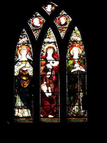 The Three Virtues, St Machars Cathedral Stained Glass Window
