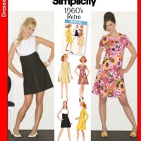"""Older Simplicity Sloper Compared to the Newer """"Retro"""" Release"""