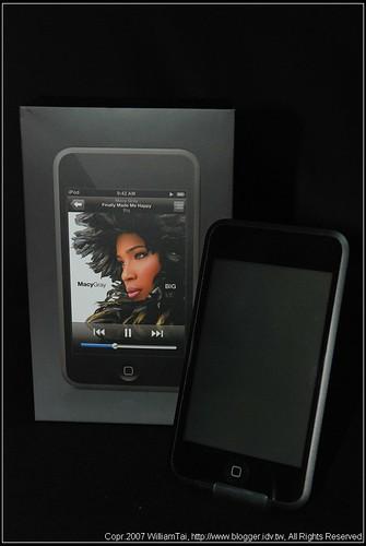 【分享】iPod touch 16G開箱 - Mobile01
