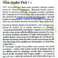 """Nord-Eclair :""""J'aurais dû reconnaitre Max-André Pick"""""""