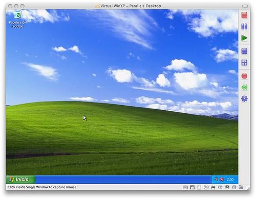 Parallels Windows XP
