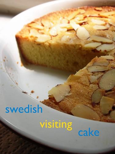swedish visiting cake