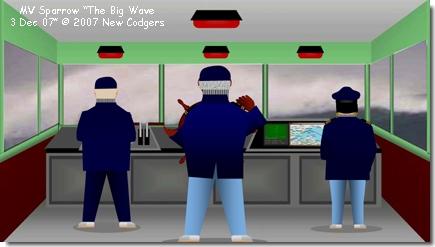 """MV Sparrow """"The Big Wave 3 Dec 07"""" © 2007 New Codgers"""