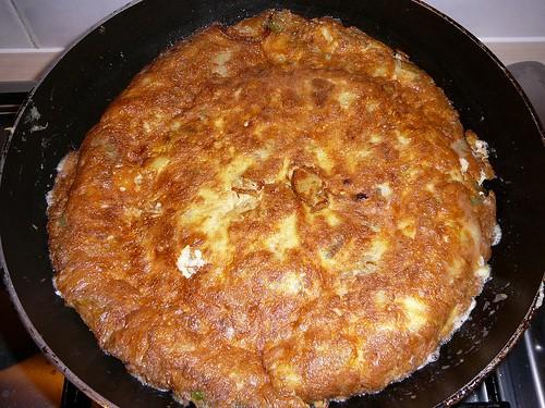 Duck Egg Spanish Omelette 005