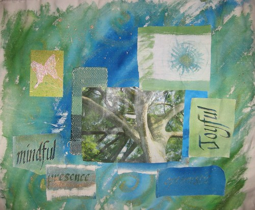 Art and Soul art quilt class