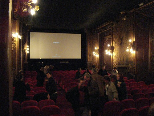 Inside the Pagode, one of the loveliest cinemas in Paris