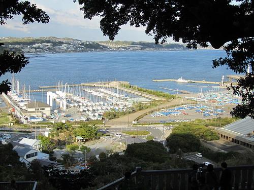 View from Enoshima Shrine