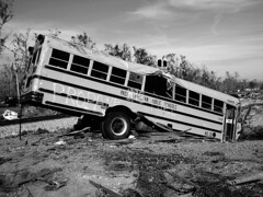Post-Katrina School Bus by <a href=